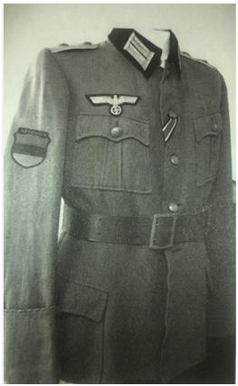 Nazi Gönüllüsü Ermenilerin Üniforması